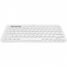 LOGITECH Bluetooth Keyboard K380 Multi-Device - INTNL - US International Layout - WHITE