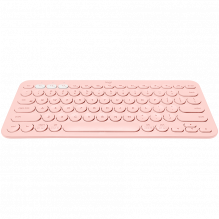 LOGITECH Bluetooth Keyboard K380 Multi-Device - INTNL - US International Layout - ROSE