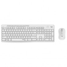 LOGITECH MK295 Silent Wireless Combo - OFF WHITE - US INT'L - 2.4GHZ - INTNL