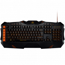 CANYON Wired multimedia gaming keyboard with lighting effect, Marco setting function G1-G5 five keys. Numbers 118keys, U