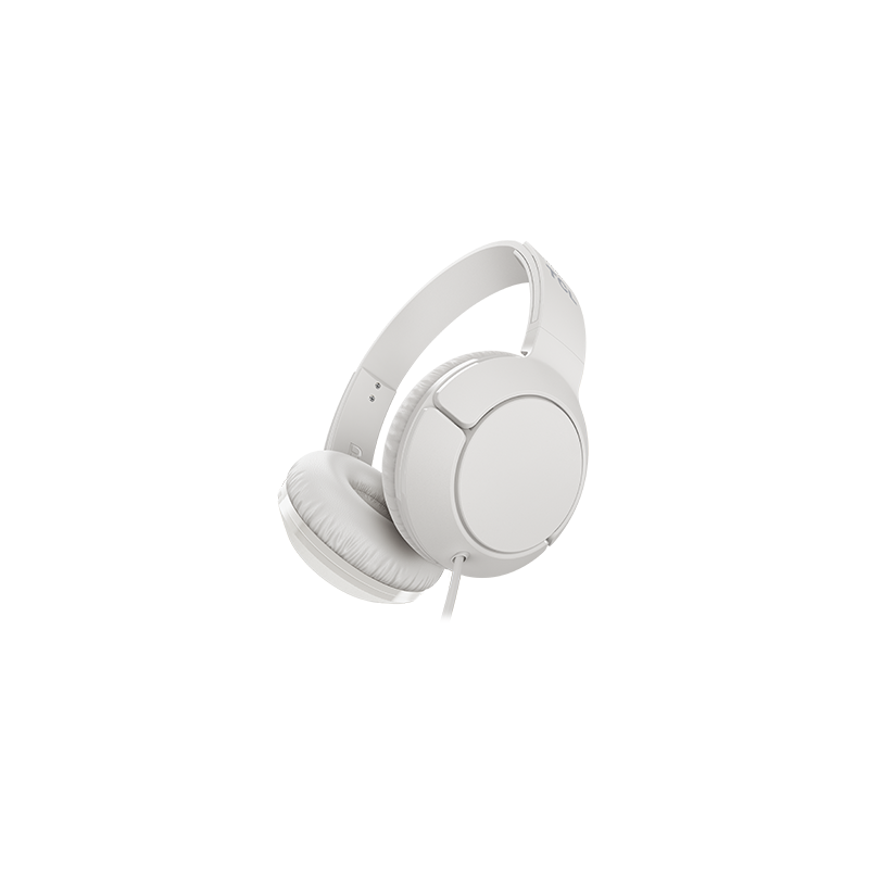TCL On-Ear Wired Headset, Strong BASS, flat fold, Frequency of response: 10-22K, Sensitivity: 102 dB, Driver Size: 32mm,