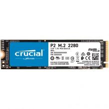 Crucial SSD 1000GB P2 M.2 NVMe PCIEx4 80mm Micron 3D NAND 2300/1150 MB/s, 5yrs, EAN: 649528823472