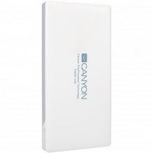 CANYON PB-101 Power bank 10000mAh Li-polymer battery,with Smart IC, Input 5V/2A, Output 5V/2A(Max), 137.5*69*15.8mm, 0.2