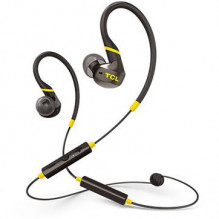 TCL In-ear Bluetooth Sport Headset, IPX4, Frequency of response: 10-22K, Sensitivity: 100 dB, Driver Size: 8.6mm, Impede