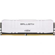 Crucial DRAM Ballistix White 8GB DDR4 2666MT/s CL16 Unbuffered DIMM 288pin White, EAN: 649528824493