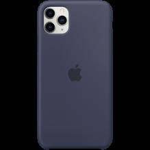 iPhone 11 Pro Max Silicone Case - Midnight Blue