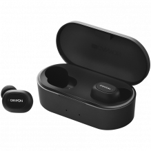 Canyon TWS-2 Bluetooth sport headset, with microphone, BT V5.0, RTL8763BFR, battery EarBud 43mAh*2+Charging Case 800mAh,