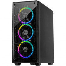 PC Chassis C-907 Cobweb – RGB Tempered Glass