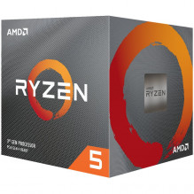 AMD CPU Desktop Ryzen 5 6C/12T 1600 (3.2/3.6GHz Boost,19MB,65W,AM4) box, with Wraith Stealth cooler