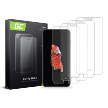 4x Sreen protection GC Clarity for iPhone 6 Plus / 6S Plus / 7 Plus / 8 Plus